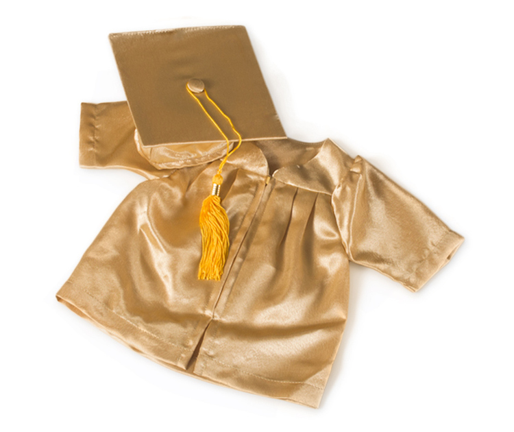 Preemie (NICU) Graduation Cap and Gown Set - Kinder Keepsakes, LLC